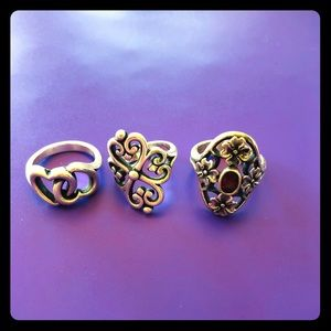 James Avery ring Lot